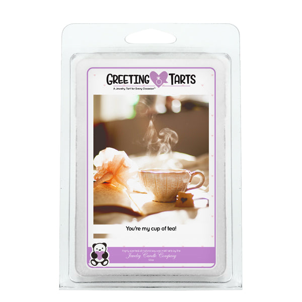 You're My Cup Of Tea! | Greeting Tart-Greeting Tarts-The Official Website of Jewelry Candles - Find Jewelry In Candles!