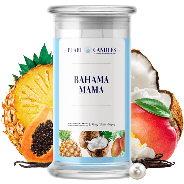 Bahama Mama | Pearl Candle®-Pearl Candles®-The Official Website of Jewelry Candles - Find Jewelry In Candles!