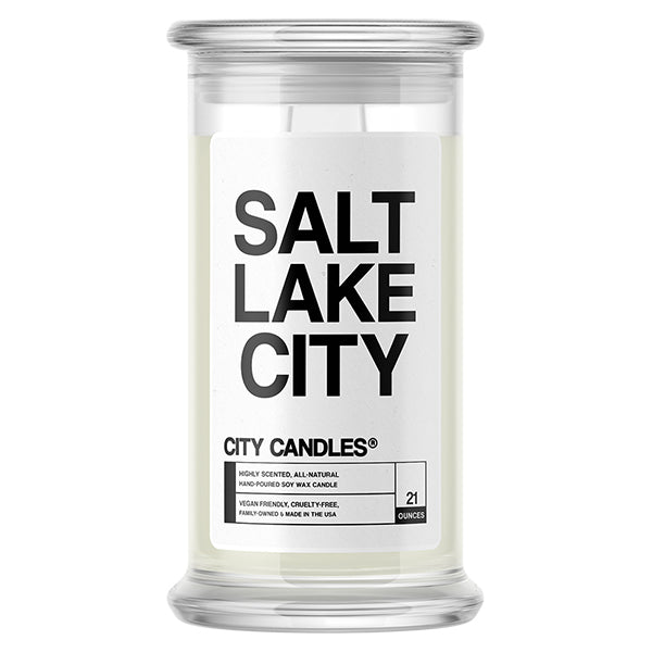 Salt Lake City City Candle