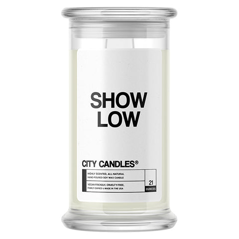 Show Low City Candle