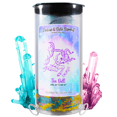 Taurus | Jewelry Zodiac Bath Bombs-Zodiac Jewelry Bath Bombs®-The Official Website of Jewelry Candles - Find Jewelry In Candles!