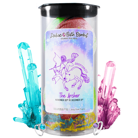 Sagittarius | Jewelry Zodiac Bath Bombs-Zodiac Jewelry Bath Bombs®-The Official Website of Jewelry Candles - Find Jewelry In Candles!