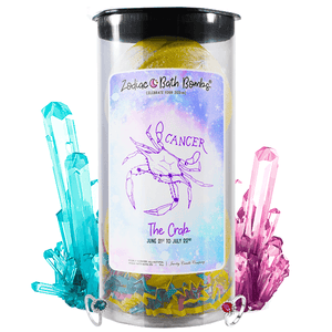Cancer | Jewelry Zodiac Bath Bombs-Zodiac Jewelry Bath Bombs®-The Official Website of Jewelry Candles - Find Jewelry In Candles!