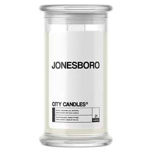 Jonesboro City Candle