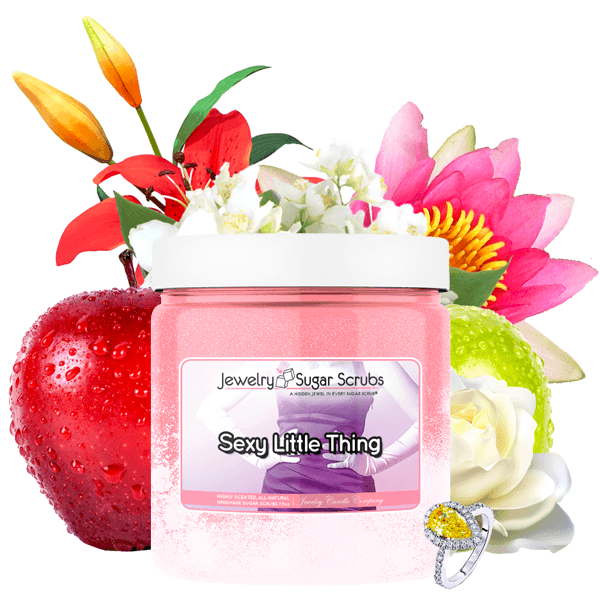Sexy Little Thing | Single Jewelry Sugar Scrub®-Jewelry Sugar Scrub®-The Official Website of Jewelry Candles - Find Jewelry In Candles!