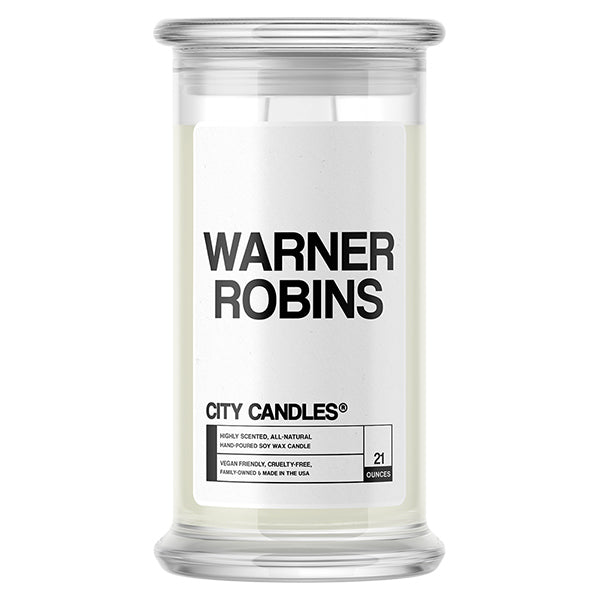 Warner Robins City Candle