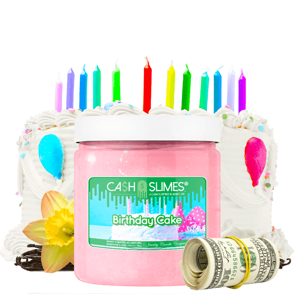 Birthday Cake | Cash Slime®-Cash Slime®-The Official Website of Jewelry Candles - Find Jewelry In Candles!