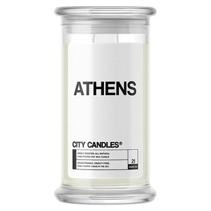 Athens City Candle