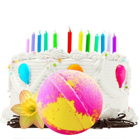 Birthday Cake | Single Bath Bomb®-Single Bath Bomb-The Official Website of Jewelry Candles - Find Jewelry In Candles!