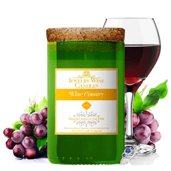 Wine Country | Jewelry Wine Candle®-Jewelry Wine Candles-The Official Website of Jewelry Candles - Find Jewelry In Candles!