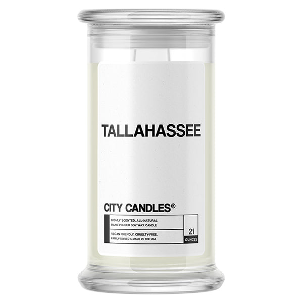 Tallahassee City Candle