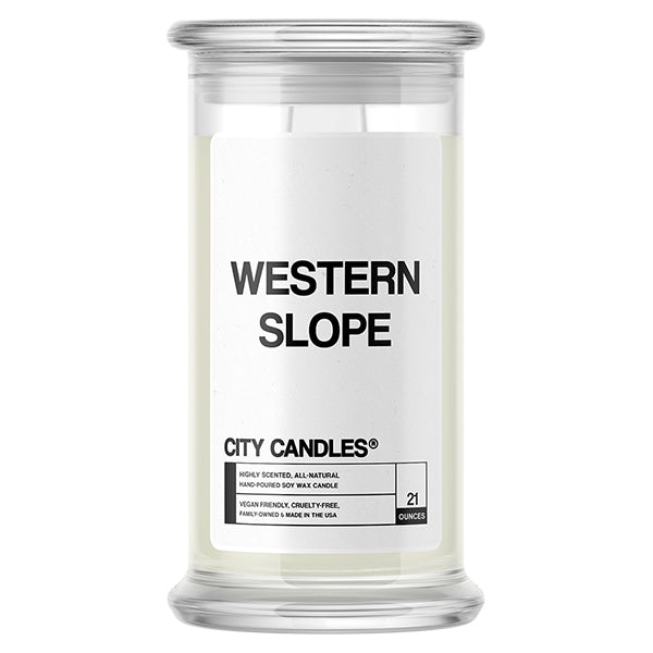 Western Slope City Candle