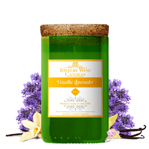 Vanilla Lavender | Jewelry Wine Candle®-Jewelry Wine Candles-The Official Website of Jewelry Candles - Find Jewelry In Candles!