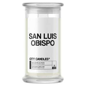 San Luis Obispo City Candle