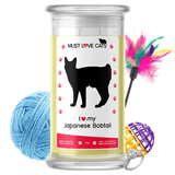 I Love My Japanese Bobtail | Must Love Cats® Candle-Must Love Cats® Candle-The Official Website of Jewelry Candles - Find Jewelry In Candles!