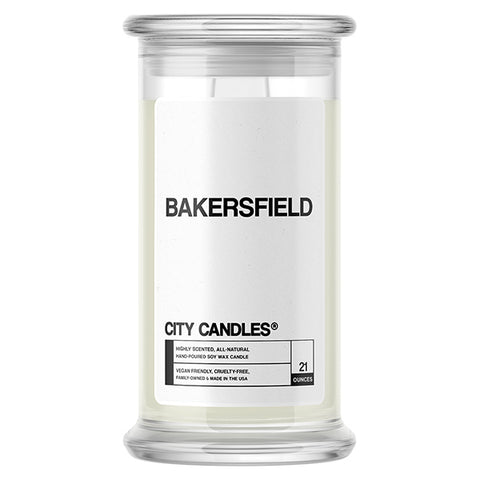 Bakersfield City Candle