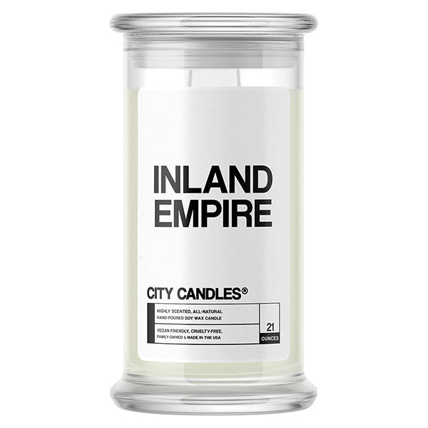 Inland Empire City Candle