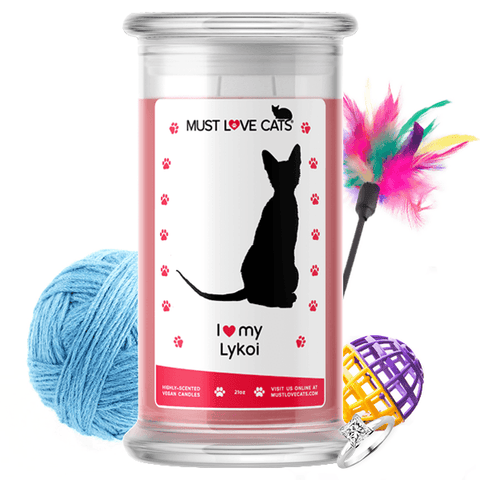 I Love My Lykoi | Must Love Cats® Candle-Must Love Cats® Candle-The Official Website of Jewelry Candles - Find Jewelry In Candles!