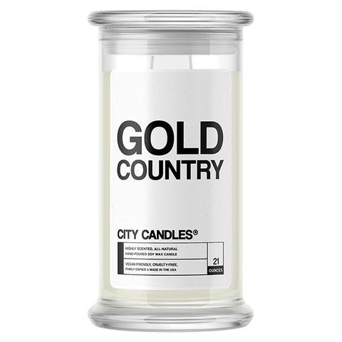 Gold Country City Candle