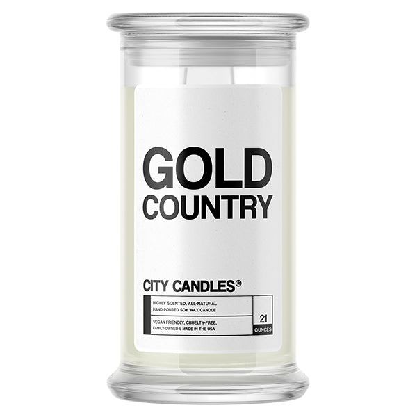 Gold Country | City Candle®