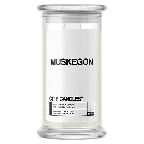Muskegon City Candle