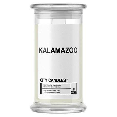 Kalamazoo City Candle