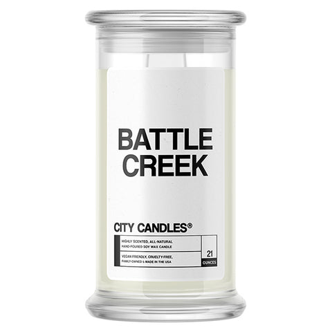 Battle Creek City Candle