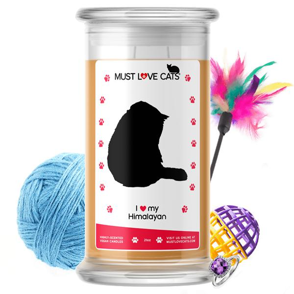 I Love My Himalayan | Must Love Cats® Candle-Must Love Cats® Candle-The Official Website of Jewelry Candles - Find Jewelry In Candles!
