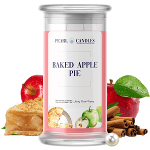 Baked Apple Pie | Pearl Candle®-Pearl Candles®-The Official Website of Jewelry Candles - Find Jewelry In Candles!