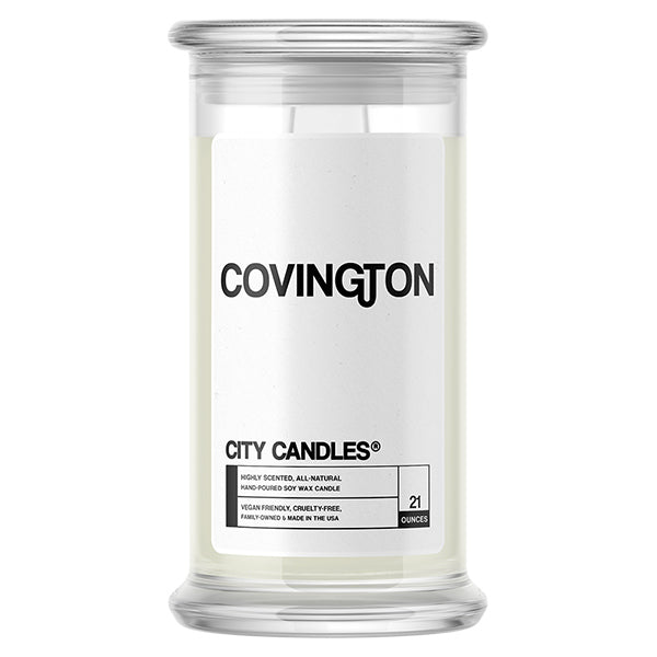 Covington City Candle