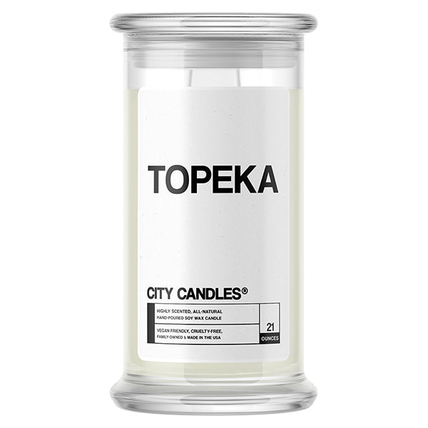 Topeka City Candle
