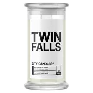 Twin Falls City Candle