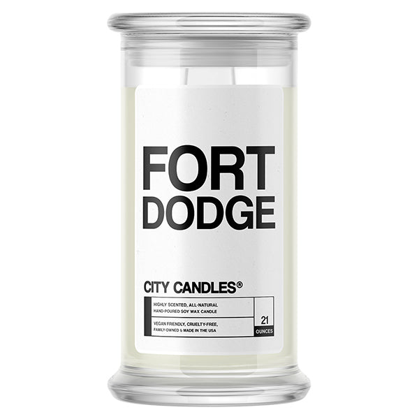Fort Dodge City Candle