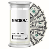 Madera City Cash Candle