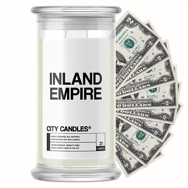 Inland Empire City Cash Candle
