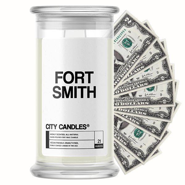 Fort Smith City Cash Candle