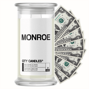 Monroe City Cash Candle
