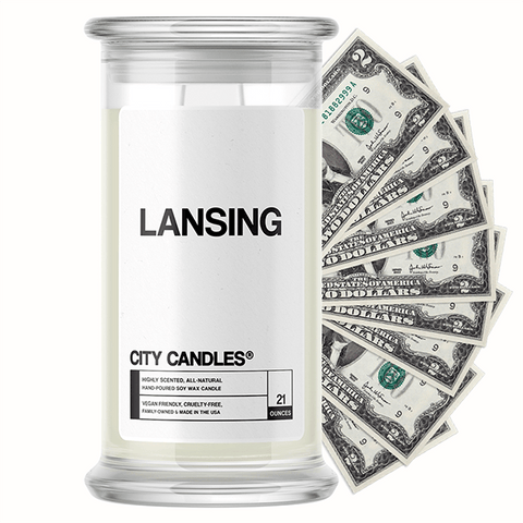Lansing City Cash Candle