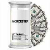 Worcester City Cash Candle