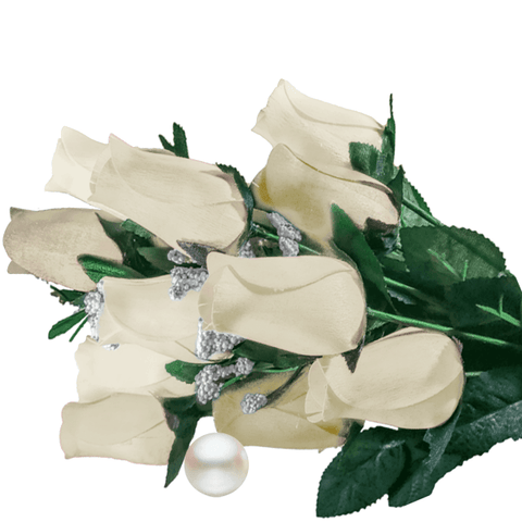 Cream Bouquet Pearl Roses