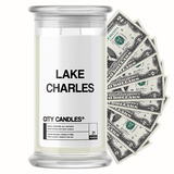 Lake Charles City Cash Candle