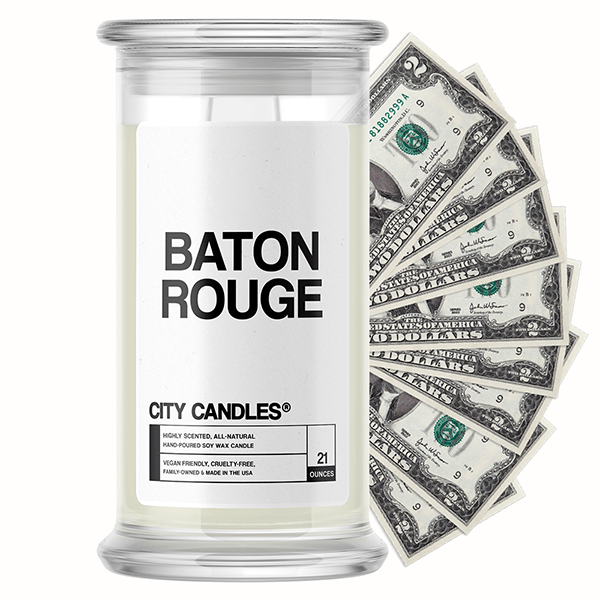 Baton Rouge City Cash Candle