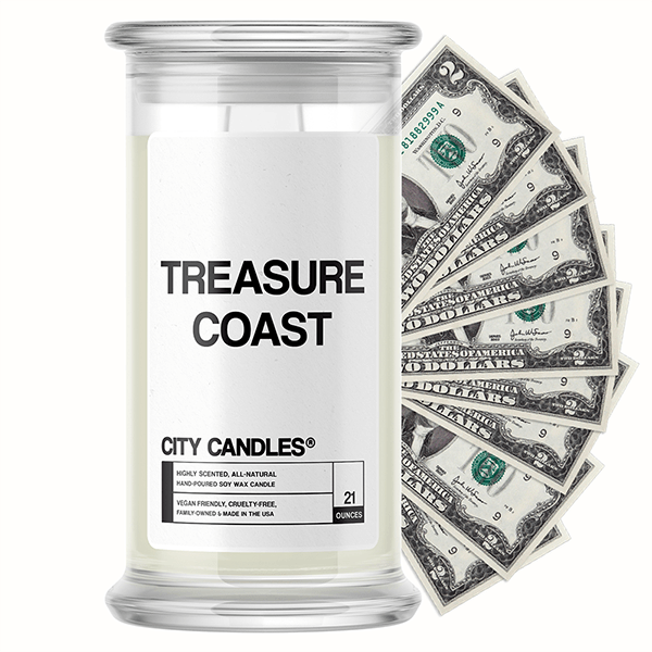Treasure Coast City Cash Candle