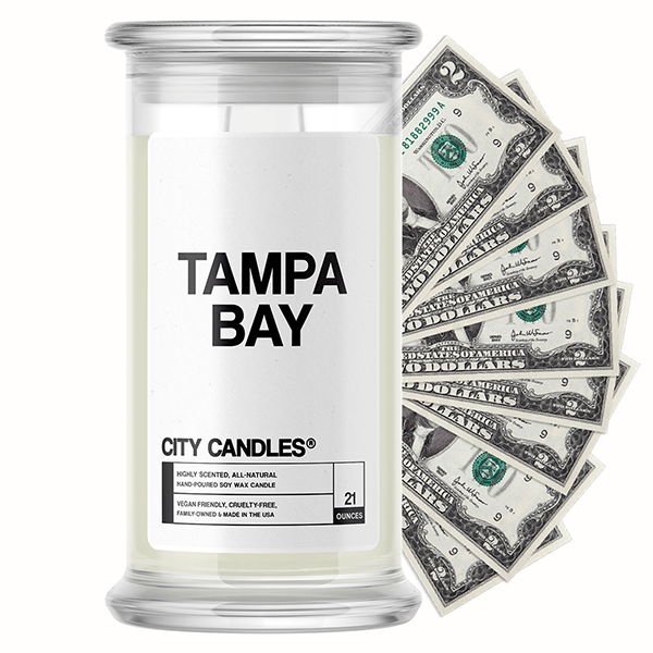 Tampa Bay City Cash Candle
