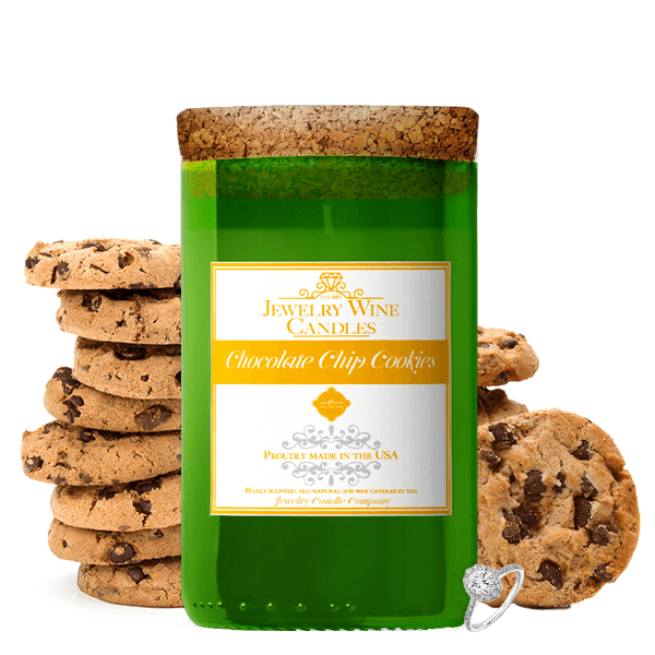 Chocolate Chip Cookies | Jewelry Wine Candle®-Jewelry Wine Candles-The Official Website of Jewelry Candles - Find Jewelry In Candles!