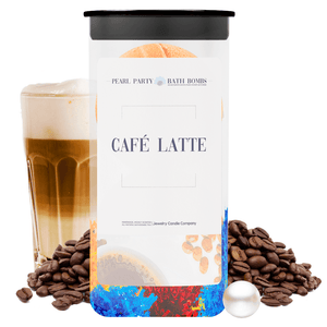Café Latte Pearl Party Bath Bombs Twin Pack