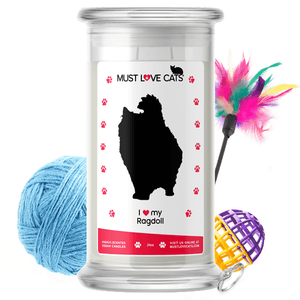 I Love My Ragdoll | Must Love Cats® Candle-Must Love Cats® Candle-The Official Website of Jewelry Candles - Find Jewelry In Candles!