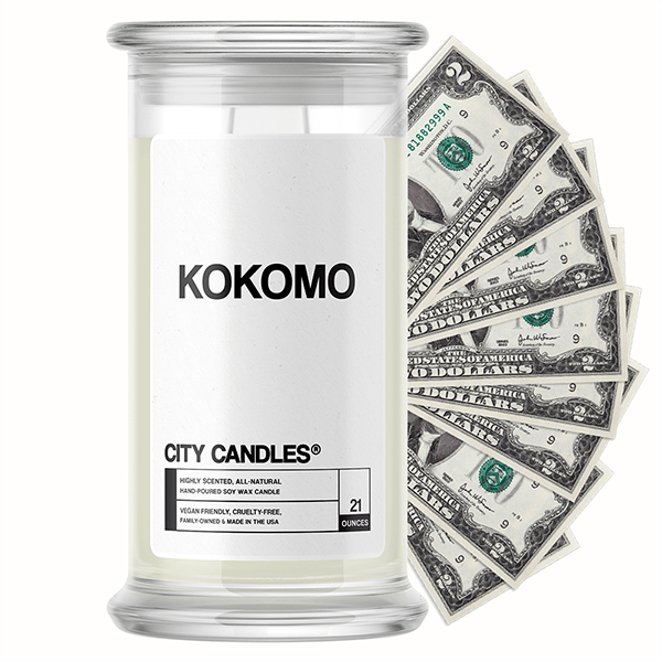 Kokomo City Cash Candle