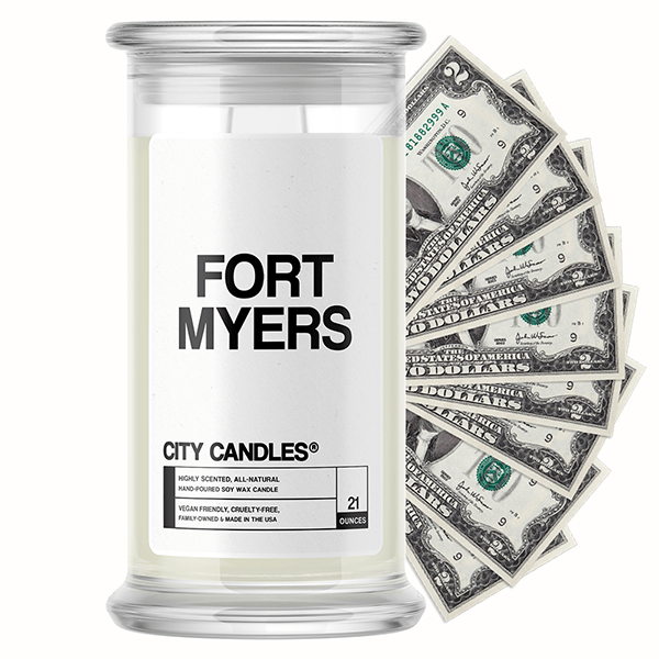 Fort Myers City Cash Candle