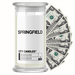 Springfield City Cash Candle
